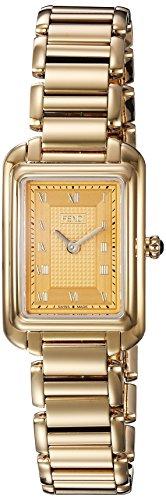 Fendi Women's Gold Tone Steel Bracelet & Case Swiss Quartz Gold-Tone Dial Analog Watch F701425000
