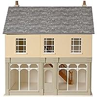 Kaminmantel weiß 1:12 Puppenhaus Miniatur Pokoje i domki dla lalek