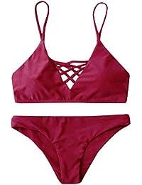 Maillots de bain Zealous rouge bordeaux Urbains femme