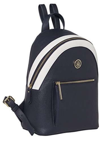Tommy Hilfiger Damen Th Core Mini Zaino Rucksackhandtasche, 10,5x23x28,5 Cm Blau (tommy Navy)