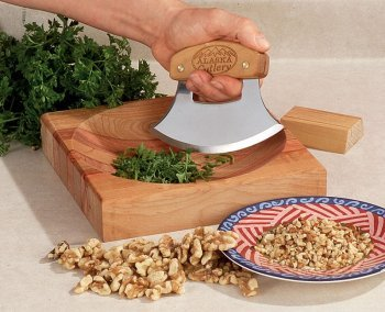 Alaskan Ulu Banjolele Messer Geschenk-Set