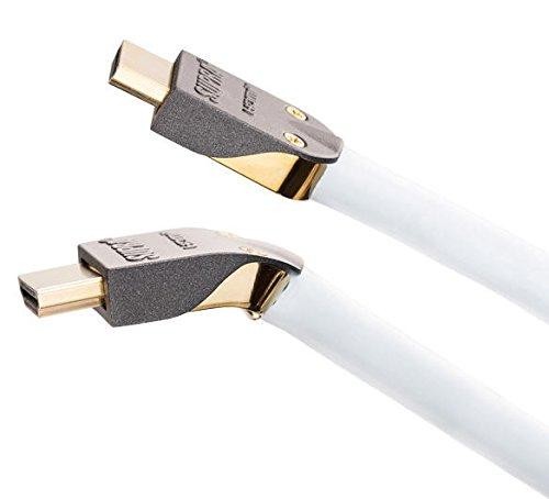 Preisvergleich Produktbild Supra HDMI Kabel 8m / abnehmbares Steckergehäuse (high speed with ethernet)