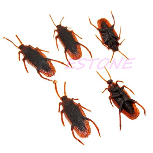 Top-Sell Fälschung Kakerlake Bug Insekt Trick Spielzeug Halloween-Witz-Dekor, (Kind Kostüme Kakerlake)