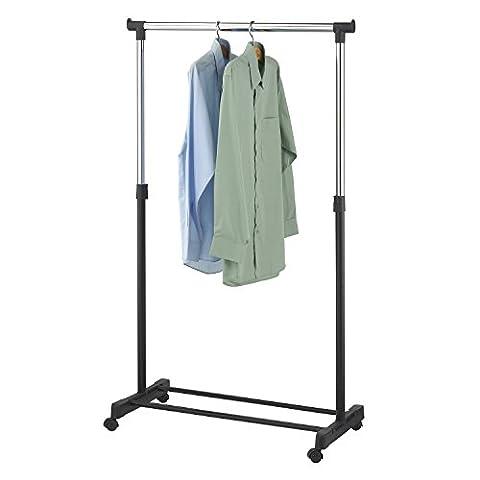 TOP Kleiderständer MEX-45 Mobile Kleiderstange Roll-Garderobe fahrbar Garderobenständer