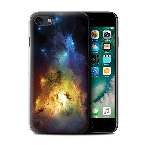 Offiziell Chris Cold Hülle / Case für Apple iPhone 7 / Chaos Entfesselt Muster / Fremden Welt Kosmos Kollektion Arcularius Nebel