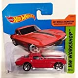 Hot Wheels '64 Corvette Sting Ray (Red) (223/250) by Hot Wheels