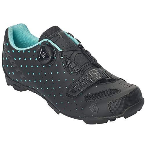 Scott MTB Comp Boa Damen Fahrrad Schuhe schwarz/türkis 2020: Größe: 41