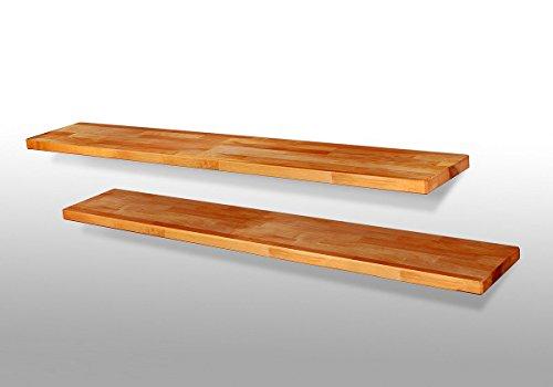 1 x Wandboard Dani2 Regal Steckboard Kernbuche Massivholz geölt / Länge 120 cm
