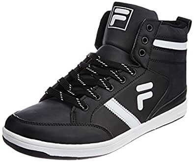 Fila Men's Grande Black and White  Sneakers -10 UK/India (44 EU)