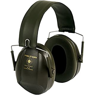 3M PELTOR Bull's Eye I Earmuffs, 27 dB, Green, Foldable, H515FB-516-GN