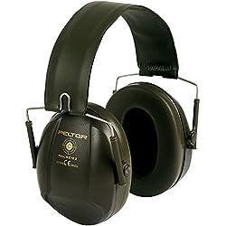 Casque antibruit 3M™ PELTOR™ Bull's Eye™ I, référence H515FB-516-GN