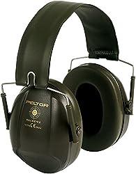 3M Peltor Bull's Eye I Kapselgehörschutz H515FGN, Grün, SNR = 27 dB