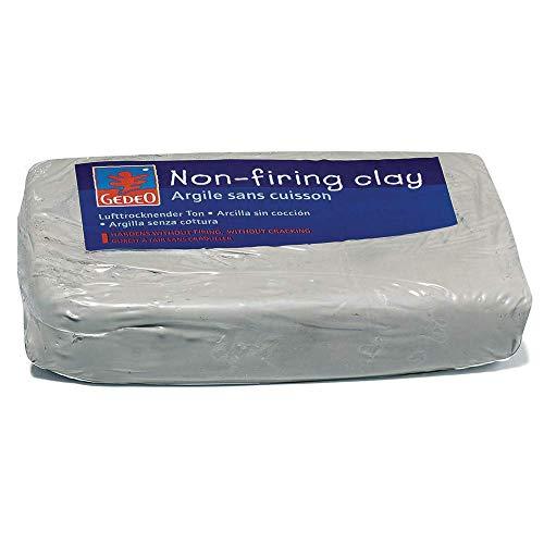 Pebeo 766302 Gedeo Ton ohne Einbrennen, 1, 5 kg Block, weiß -