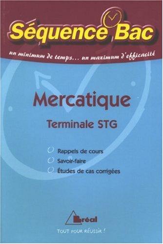 Mercatique Tle STG