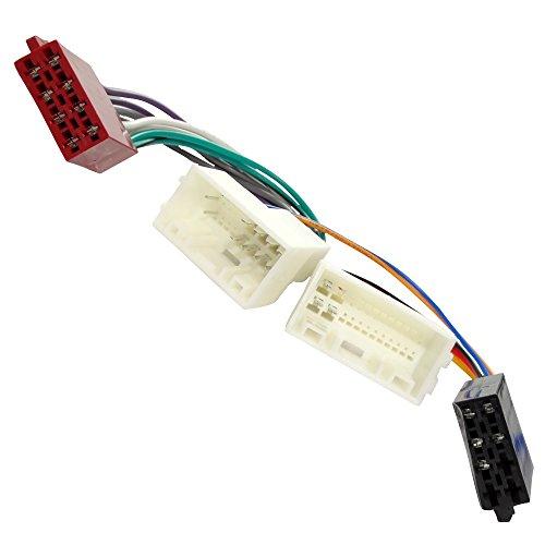 Aerzetix ISO Konverter Adapter Kabel Radioadapter Radio Stecker ISO Kabel Verbindungskabel C40112