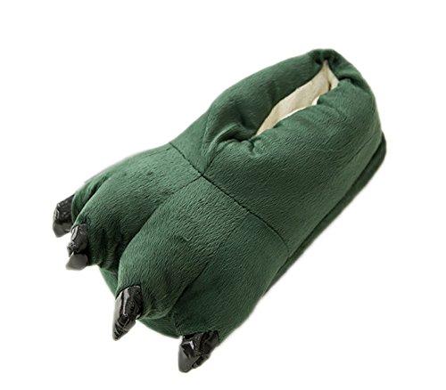 LATH.PIN Unisex Puschen Plüsch Hausschuhe Pantoffeln Kostüme Tierhausschuhe Geschenkidee Türkis