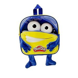 Play Dough DARP-CPDO090 Play-Doh - Mochila Infantil con 12 Accesorios creativos, Color Azul y Amarillo