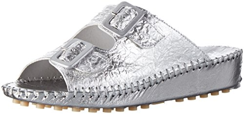 Hans Herrmann Collection Damen Hhc Clogs Silber (Argento)