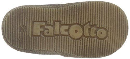 Naturino Unisex Baby Falcotto 1195 Lauflernschuhe Braun (Braun_9115)
