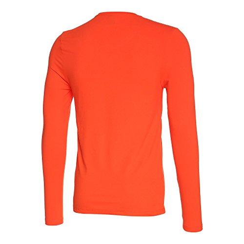 Odlo Herren Long Sleeve Sillian T-Shirt, Herren, Long Sleeve Sillian Orange