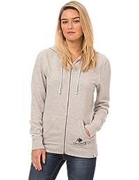 Animal Women's Islander/103 Long Sleeve Hoodie, Grey (Grey Marl), 14