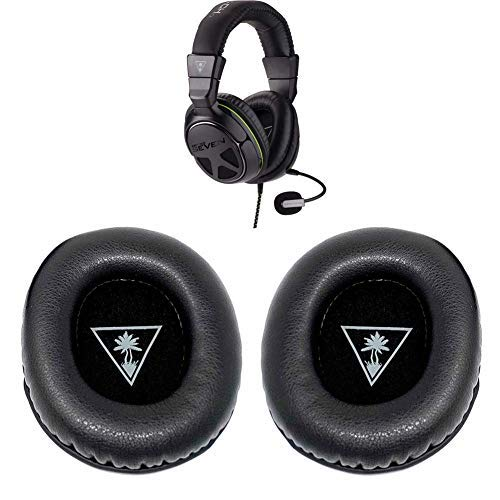 Replacement Earpads Ear Cushion Pad Headband Compatible with Turtle Beach - Ear Force XO Seven XO 7 XO7 Pro Premium Gaming Headset-Xbox One (Ear Force XO 7 Earpad)