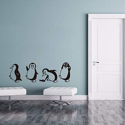 Yzybz Diy Abnehmbare Pinguin Wandaufkleber Kinder Nursery Home Dekorative Aufkleber Baby Zimmer Vinyl Wandtattoos Niedlichen Tier Kunst ()