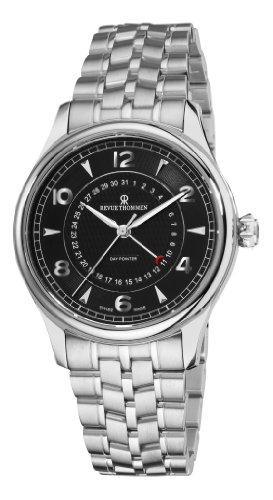 Revue Thommen Reloj de hombre automático 42mm correa de acero 10012.2137