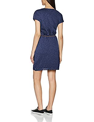 Vero Moda Women's Vmspirit Ss Wide Short Dnm Jrs Dress