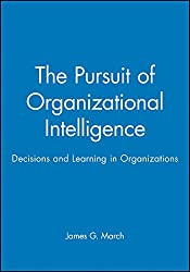 Pursuit Orgztnl Intelligence P (Blackwell Business)