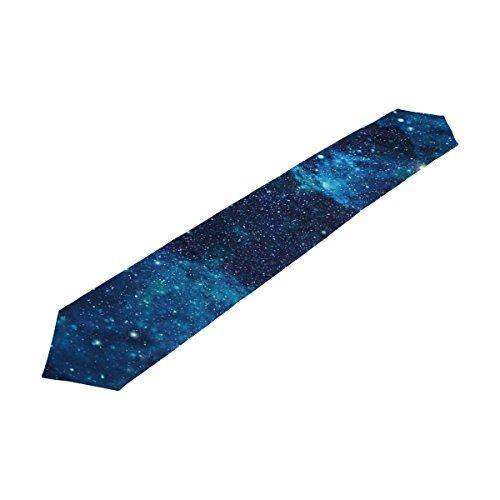 alaza Bleu Galaxy Star et nébuleuse Univers de Table 13 x 70 Pouces Table Polyester Haut Décoration Home Décor