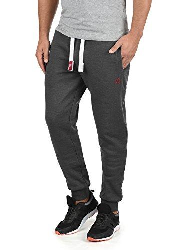 SOLID Benn Herren Jogginghose Sweatpants Sporthose mit kuscheliger Fleece-Innenseite aus hochwertiger Baumwollmischung Meliert, Größe:M, Farbe:Med Grey (8254)