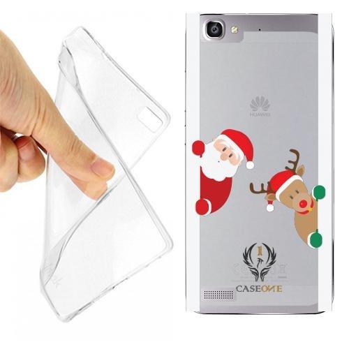 Custodia Cover Case Sorpresa Natale per Huawei P8