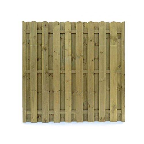 Sichtschutzzaun Holz 180x180 Dichtzaun Sichtschutz Element 3 Teilig
