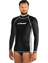 Cressi Herren Rash Guard UV Sun Protection (UPF) 50, Ärmel Lange