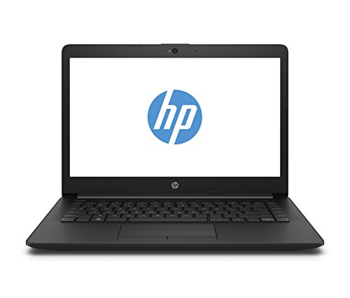 HP Notebook 14-dg0001ng 35,56 cm (14 Zoll HD) Notebook (Intel Celeron N4000, 4GB RAM, 64GB SSD, Intel UHD Graphics 600, Windows 10 Home 64) schwarz