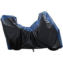 Plegable Garaje Negro/Azul, Bacall California exterior para BMW K 1600GT ABS K48, BMW K 1600GTL ABS K48| BMW R 1200RT K26| BMW R 1200RT ABS (Agua) K52