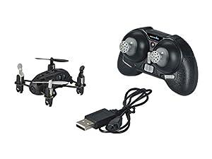 Revell Control RC Quadcopter con cámara, teledirigido con 2,4GHz Control Remoto, Modelo Micro, Niveles de Velocidad, función de Flip, iluminación LED, Gyro, Cargador USB, Nano Quad CAM 23923