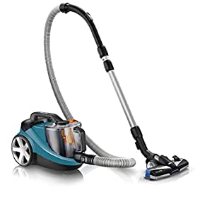 Philip Expert Bagless Cylinder Vacuum Cleaner, Pet and Anti-Allergen