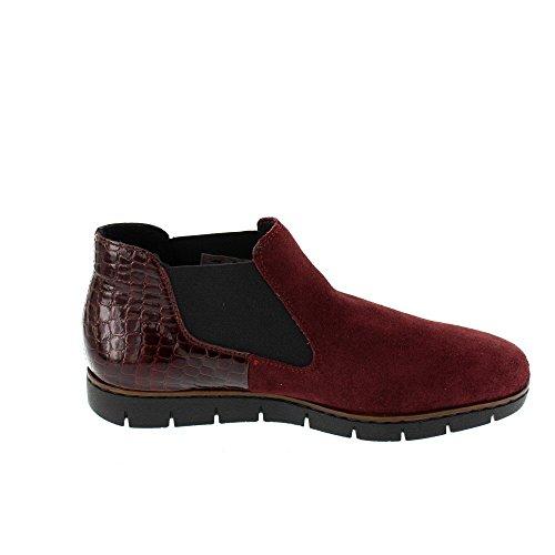 Rieker M1390 bottes & bottines femme Rouge