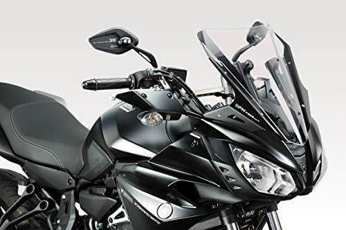 MT07 TRACER 2017 - Kit Spoiler Verkleidung (R-0810) - Aluminium Windschutzscheibe Windabweiser Scheibe - Hardware Bolzen Enthalten - Motorradzubehör De Pretto Moto (DPM) - 100% Made in Italy
