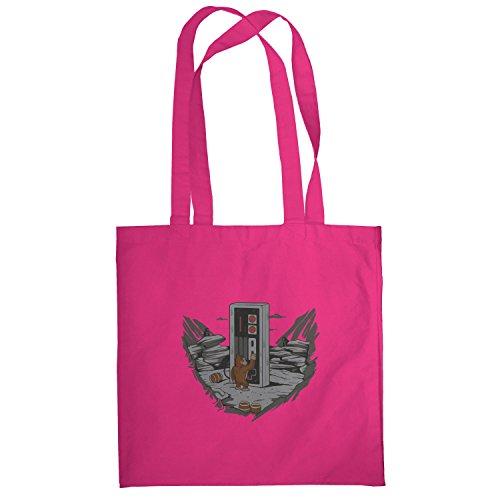 Texlab–Donkey Odyssey–sacchetto di stoffa Pink