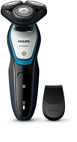 philips-aquatouch-s5070-04-rotation-trimmer-bluegrey-mens-shaver-mens-shavers-ac-battery-nickel-meta