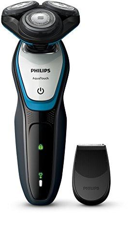 Philips AquaTouch S5070/04Nass- und Trockenrasierer, Präzisionstrimmer