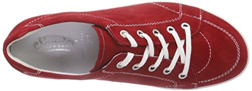 Semler Michelle, Scarpe Stringate Brouge Donna Rot (066 - fire)
