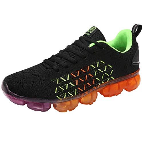 Bluestercool Uomo Donna Scarpe Running Sneakers Flying Weaving Le Scarpe da Corsa Scarpe turistiche Scarpe Sportive Tempo Libero Scarpe