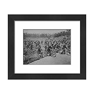 Media Storehouse Framed 10x8 Print of Cycle Battalion (12021752)