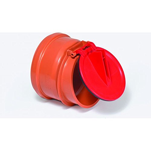 KESSEL Rohrklappe aus Kunststoff DN100