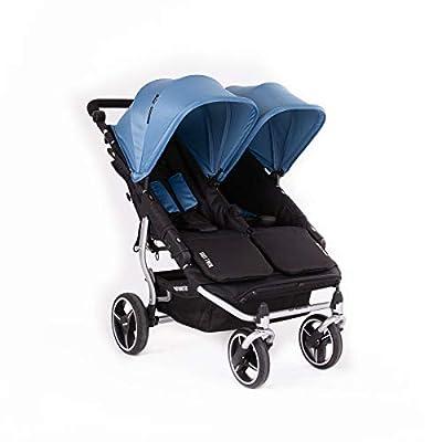 Baby Monsters- Silla Gemelar Easy Twin 3.0.S (Silver) - Color Atlantic + REGALO de un bolso de polipiel (capota normal) Danielstore
