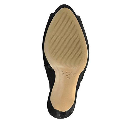 BEPPINA sandales femme daim Noir